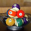 Billiard Balls by Erik Burg
