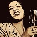 Billie Holiday by Jeff DOttavio