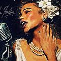 Billie Holiday by Zapista Zapista