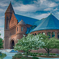 Billings Library At Uvm by Guy Whiteley