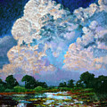 Billowing Clouds by John Lautermilch