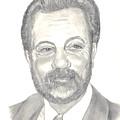 Billy Joel Portrait by Carol Wisniewski