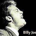 Billy Joel Poster by John Malone