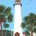 Biloxi Lighthouse by Frederic Kohli