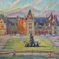 Biltmore Christmas Morning by Lisa Blackshear