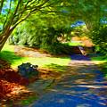 Biltmore Mansion Walking Path by Kevin Keeling