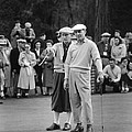 Bing Crosby and Ben Hogan by Underwood Archives