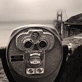Binoculars by Les Cunliffe