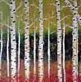 Birch Trees by Sheli Paez