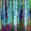 Birch Woods by Lilia D