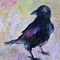 Bird Above His Chamber Door by Sandy Applegate