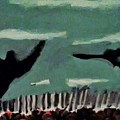 Bird Flock by Keisha Manley