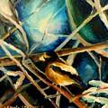 Bird In Winter by Carole Spandau