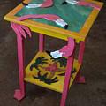 Barefootin' Table  by Lizi Beard-Ward