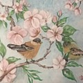 Birds And Blossoms by Cb Fineartstudios