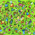 Birds And Bugs by Pamela Parsons