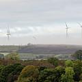 Birds And Wind Turbines  by Ciaran Craig