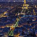 Bird's Eye On Paris 2 by Pablo Lopez