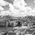 Bird's Eye View Hoboken Nj by Regina Geoghan