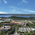 Birds Eye View Orlando Florida by Aimee L Maher ALM GALLERY