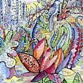 Birds For Louise #1 by Carolyn Alston Thomas