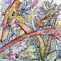 Birds For Louise #3 by Carolyn Alston Thomas