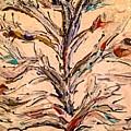 Birds In A Tree by Paula Baker