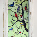 Birds In The Tree Framed by David Hinds