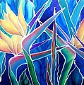 Birds Of Paradise  by Francine Dufour Jones