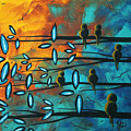 Birds Of Summer By Madart by Megan Duncanson