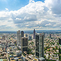 Birdview Of Frankfurt Am Main by JR Photography