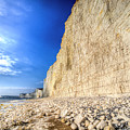 Birling Gap And Seven Sisters by David Pyatt