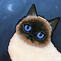 Birman Blue Night by Leanne Wilkes