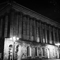 Birmingham Town Hall In The City Centre At Night England Uk by Joe Fox