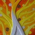 Birth Gold 2 by Kumiko Mayer