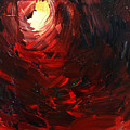 Birth Abstract Art by Sheila Mcdonald