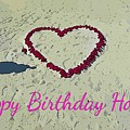 Birthday Card For Lover by John Malone
