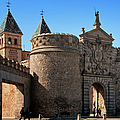 Bisagra Gate Toledo Spain by Joan Carroll