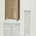 Bishop Hill: Cupboard by Wellington Blewett