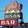 Miles City Montana - Bison Bar by Frank Romeo