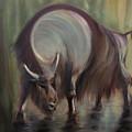 Bison by Edyta Loszakiewicz