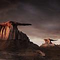 Bisti Badlands, New Mexico, Usa by Dmitry Pichugin