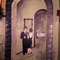 Bistro Mural Detail 6 by Rachel Christine Nowicki