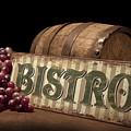 Bistro Still Life Iv by Tom Mc Nemar