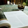 Bistro Table Study, Balcony Garden, Hunter Hill, Hagerstown, Mar by James Oppenheim