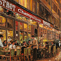 Bistrot Champollion by Guido Borelli