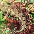 Bisymmetric Spiral Spring by Ron Bissett
