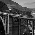 Bixby Bridge Big Sur II Bw by David Gordon