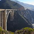 Bixby Bridge Crossing A Chasm by David Buffington