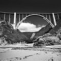 Bixby Creek Bridge For Bixby Beach  1987 by California Views Archives Mr Pat Hathaway Archives